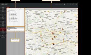 Lolalizacja prac na mapie w ksavi workforce
